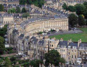 Prachtige gebouwen in Bath