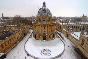 oxford in de winter