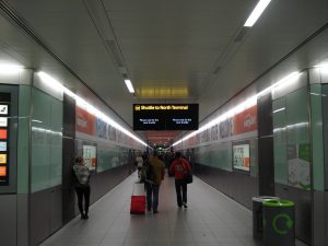 shuttle to North terminal Gatwick