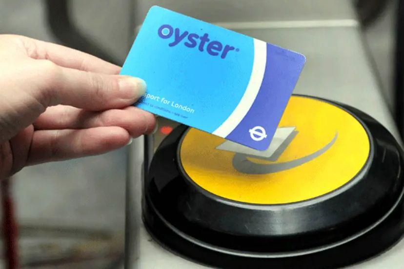 oyster card ov londen